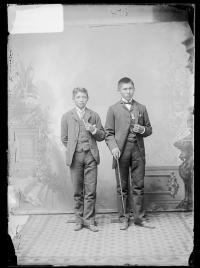 Stephen Smith and Randall Delchey [version 1], c.1885