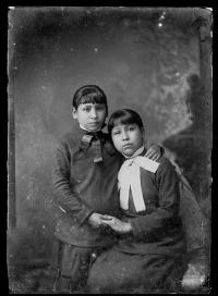 Lizzie and Katie Day [version 1], c.1883