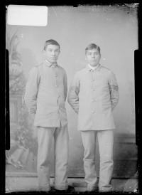 John Miller and Joel Cotter, 1886