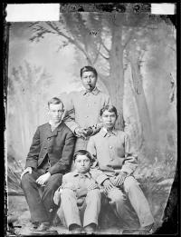 Mason Pratt, Charles Kihega, Samuel Townsend, and Benjamin Marshall [version 1], c.1882