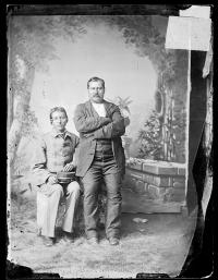 Thomas Carlisle and Bob Bent [version 1], c.1879