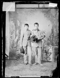 Joseph Wisecoby and Moses Nonway, c.1880
