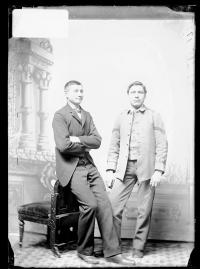 George Ell and Anthony Austin, c.1890