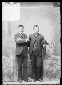 William Short Nose and Francis Lee, 1888