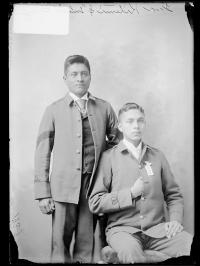 Thomas Kitewmi and Timothy Henry [version 1], c.1892