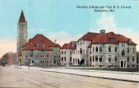 Goucher College and First M. E. Church