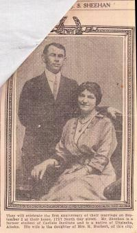 Joseph S. Sheehan and Wife