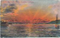 Golden Gate at Sunset, 1910