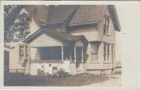 Rosalie Doctor's Family and House, c.1911