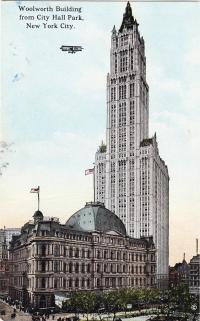 Woolworth Building, New York City, c.1913