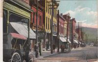 Main street of Salamanca, NY, c.1911