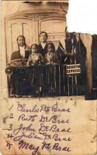 Charles Dubray and family, c.1907