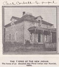 Tepee of the New Indian, 1910