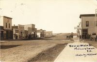 Main street of Morristown, SD, c.1910