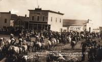 Parade in Dupree, SD, c.1910