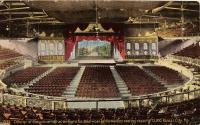 Interior of the Convention Hall in Kansas City, Missouri, c.1914