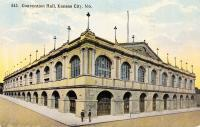 Exterior of the Convention Hall in Kansas City, Missouri, c.1914