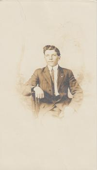 Unidentified Male, c.1912