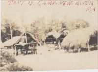 Tommie's Camp in New River, Florida, #1, c.1913