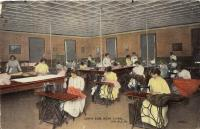 Carlisle's Sewing Room, 1918