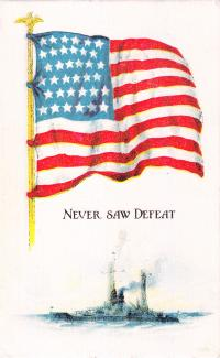 Never Saw Defeat, c.1917