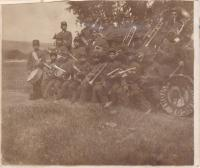 Indian School Band at Fort Simcoe, c.1909