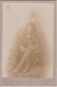 Chauncey Yellow Robe, #1, 1883 [before]