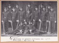 Officers of the Chemawa Battalion, 1914