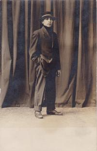 Fred Sickles, c.1909