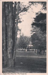 The Forest Inn in Eagles Mere Park, Pennsylvania, c.1914