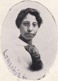 Mary Lonechief, c.1917