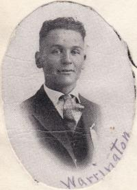 George Anthony Warrington, c.1917