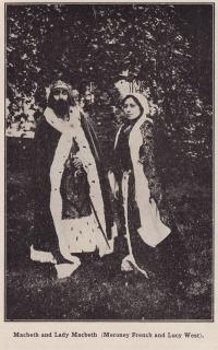Meroney French and Lucy West, 1916