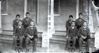 Four male Sioux students [version 1], c.1879