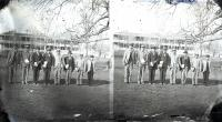 Former Fort Marion prisoners at the Carlisle Indian School, c.1879