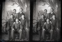 Five unidentified male students (Alfred Group) #3, c.1883