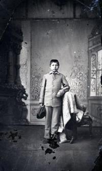 Unidentified male student #20, c.1880