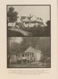 Homes of William Petoskey and William White