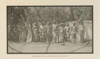The Shoshoni Sun Dance - Some of the Dancers in Costume