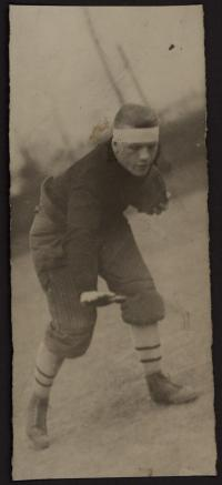 Unidentified Football Player, c.1910 #1