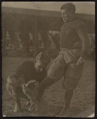 Garlow Kicking the Football, c.1910