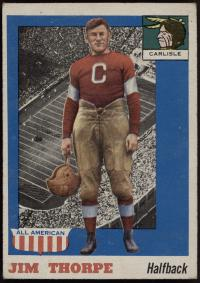 Jim Thorpe Football Card, c.1910