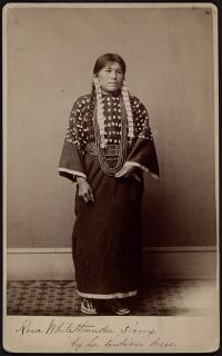 Rose White Thunder (pose 1), 1883