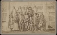Arapaho and Shoshone children, c.1881