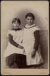 Bertha and Madge Nason [version 2], c.1884
