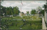 Campus and Tennis Court, c.1908
