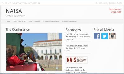 Screenshot - NAISA Conference in Austin