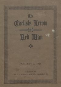 The Carlisle Arrow and Red Man (Vol. 14, No. 16)