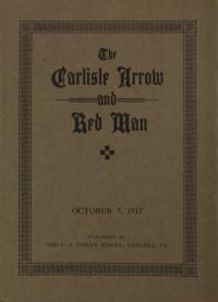 The Carlisle Arrow and Red Man (Vol. 14, No. 4)