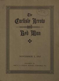 The Carlisle Arrow and Red Man (Vol. 14, No. 8)